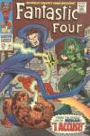 Fantastic Four #65 comic books - cover scans photos Fantastic Four #65 comic books - covers, picture gallery