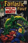 Fantastic Four #70 comic books - cover scans photos Fantastic Four #70 comic books - covers, picture gallery