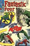 Fantastic Four #71 Comic Books - Covers, Scans, Photos  in Fantastic Four Comic Books - Covers, Scans, Gallery