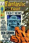 Fantastic Four #92 comic books - cover scans photos Fantastic Four #92 comic books - covers, picture gallery