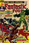 Fantastic Four #5 comic books - cover scans photos Fantastic Four #5 comic books - covers, picture gallery