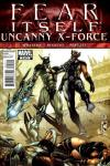 Fear Itself: Uncanny X-Force #2 comic books for sale