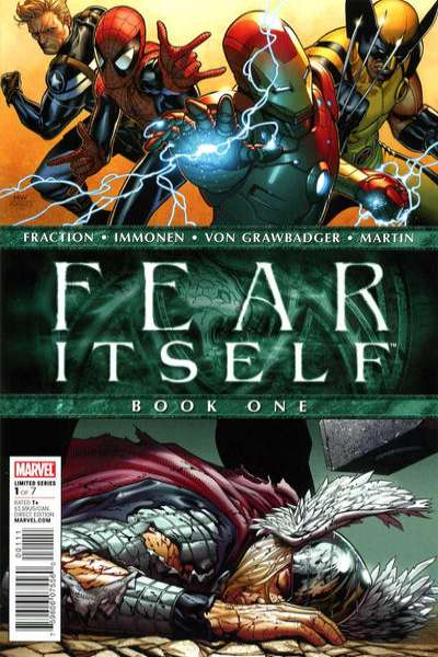 Fear Itself #1 Comic Books - Covers, Scans, Photos  in Fear Itself Comic Books - Covers, Scans, Gallery