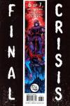 Final Crisis #6 comic books for sale