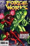 Force Works #20 comic books - cover scans photos Force Works #20 comic books - covers, picture gallery