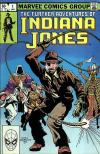 Further Adventures of Indiana Jones comic books