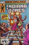 Further Adventures of Indiana Jones #4 comic books - cover scans photos Further Adventures of Indiana Jones #4 comic books - covers, picture gallery