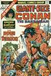 Giant-Size Conan Comic Books. Giant-Size Conan Comics.