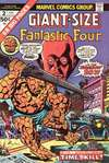 Giant-Size Fantastic Four comic books