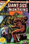 Giant-Size Man-Thing comic books