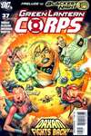 Green Lantern Corps #37 comic books - cover scans photos Green Lantern Corps #37 comic books - covers, picture gallery