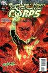 Green Lantern Corps #44 comic books - cover scans photos Green Lantern Corps #44 comic books - covers, picture gallery