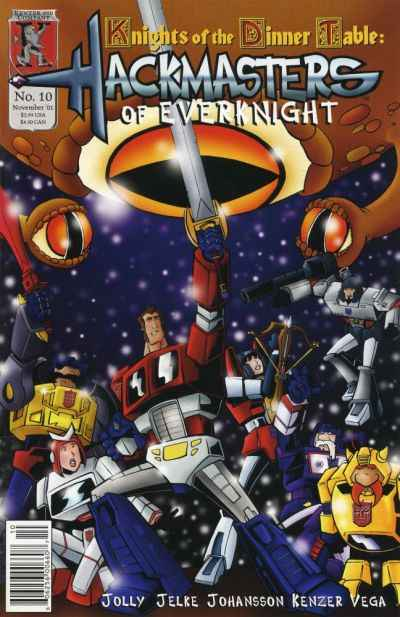Hackmasters of Everknight #10 comic books - cover scans photos Hackmasters of Everknight #10 comic books - covers, picture gallery
