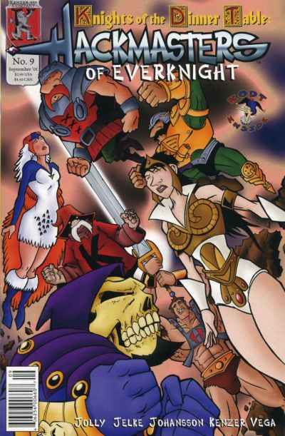 Hackmasters of Everknight #9 comic books - cover scans photos Hackmasters of Everknight #9 comic books - covers, picture gallery