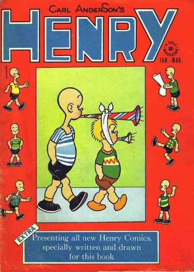 Henry comic books