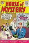 House of Mystery #49 Comic Books - Covers, Scans, Photos  in House of Mystery Comic Books - Covers, Scans, Gallery