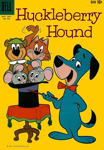 Huckleberry Hound comic books