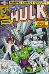 Incredible Hulk #249 comic books - cover scans photos Incredible Hulk #249 comic books - covers, picture gallery