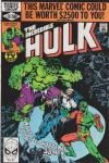 Incredible Hulk #251 comic books for sale