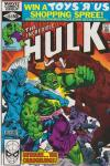 Incredible Hulk #252 comic books for sale