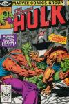Incredible Hulk #257 comic books for sale