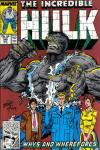 Incredible Hulk #346 comic books - cover scans photos Incredible Hulk #346 comic books - covers, picture gallery