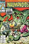 Inhumanoids #1 comic books - cover scans photos Inhumanoids #1 comic books - covers, picture gallery