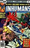 Inhumans #6 comic books for sale