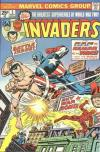 Invaders #3 comic books - cover scans photos Invaders #3 comic books - covers, picture gallery