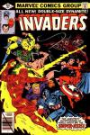 Invaders #41 comic books - cover scans photos Invaders #41 comic books - covers, picture gallery