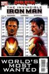 Invincible Iron Man #9 comic books - cover scans photos Invincible Iron Man #9 comic books - covers, picture gallery