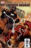 Invincible Iron Man #4 comic books - cover scans photos Invincible Iron Man #4 comic books - covers, picture gallery