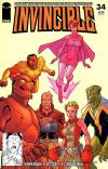 Invincible #34 comic books - cover scans photos Invincible #34 comic books - covers, picture gallery