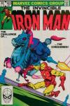 Iron Man #163 comic books - cover scans photos Iron Man #163 comic books - covers, picture gallery