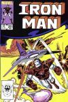 Iron Man #201 comic books - cover scans photos Iron Man #201 comic books - covers, picture gallery