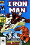 Iron Man #206 comic books - cover scans photos Iron Man #206 comic books - covers, picture gallery