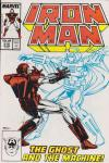 Iron Man #219 comic books - cover scans photos Iron Man #219 comic books - covers, picture gallery