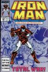 Iron Man #225 comic books - cover scans photos Iron Man #225 comic books - covers, picture gallery
