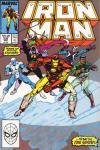 Iron Man #240 comic books - cover scans photos Iron Man #240 comic books - covers, picture gallery