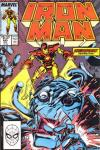 Iron Man #245 comic books - cover scans photos Iron Man #245 comic books - covers, picture gallery