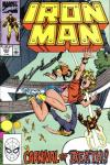 Iron Man #253 comic books for sale