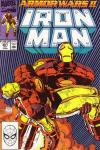 Iron Man #261 comic books - cover scans photos Iron Man #261 comic books - covers, picture gallery
