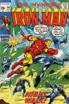 Iron Man #40 comic books - cover scans photos Iron Man #40 comic books - covers, picture gallery