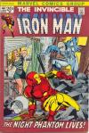Iron Man #44 comic books for sale