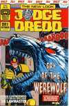 Judge Dredd comic books