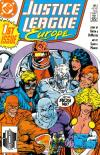 Justice League Europe #1 Comic Books - Covers, Scans, Photos  in Justice League Europe Comic Books - Covers, Scans, Gallery