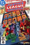 Justice League of America #195 comic books - cover scans photos Justice League of America #195 comic books - covers, picture gallery