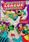 Justice League of America #21 comic books - cover scans photos Justice League of America #21 comic books - covers, picture gallery