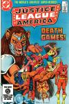 Justice League of America #222 comic books - cover scans photos Justice League of America #222 comic books - covers, picture gallery