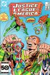 Justice League of America #243 comic books - cover scans photos Justice League of America #243 comic books - covers, picture gallery